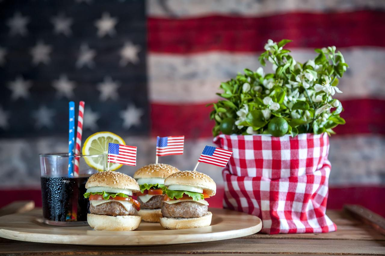 <p>Kick off your Independence Day celebration the right way: by heating up the grill and preparing a fun feast for the family! With these delicious dishes, it's sure to be a patriotic backyard bash worth remembering.</p>