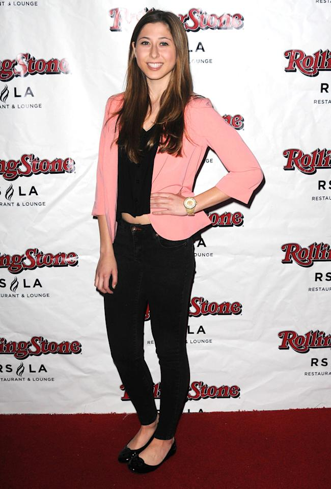 """Elizabeth Small attends Discovery TV's """"My Mom Is Obsessed"""" Screening Party  held at The Rolling Stone Restaurant & Lounge on April 30, 2012 in  Hollywood, California."""