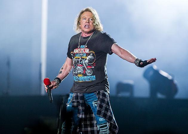 Guns N' Roses have been touring Australia. Axl Rose pictured at last week's Brisbane show. Source: Getty