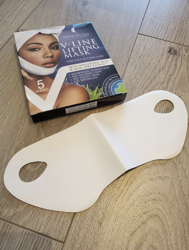 V-Line Lifting Mask for Face and Chin - Amazon, $19 (originally $22). Customer supplied image.