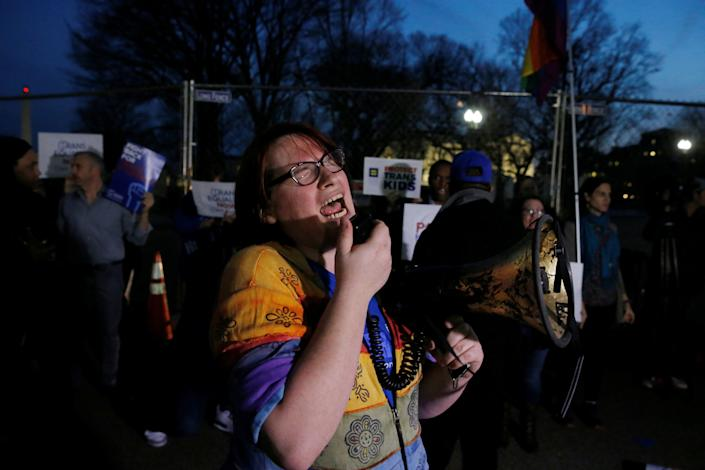 """""""We all know that Donald Trump is a bully, but his attack on transgender children today is a new low. The U.S. Department of Education's decision to withdraw guidance clarifying the rights of transgender students endangers the well-being and safety of children across the country. Trump's actions do not change the law itself—transgender students remain protected by Title IX of the Education Amendments of 1972—but abandoning the guidance intentionally creates confusion about what federal law requires. The law bars discrimination – the new administration invites it."""" --<i><a href=""""http://www.lambdalegal.org/"""" target=""""_blank"""">Lambda Legal</a>CEO Rachel B. Tiven</i>"""