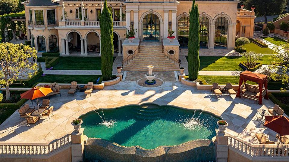 The outdoor pool - Credit: Photo: Wayne Ford