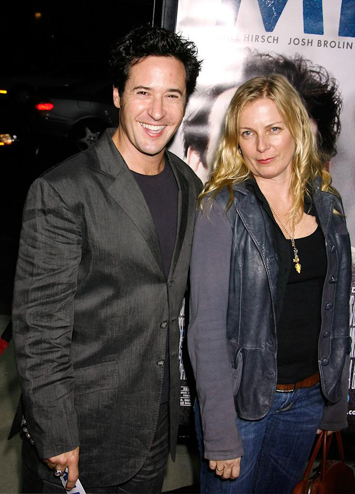 """<a href=""""http://movies.yahoo.com/movie/contributor/1800108266"""">Rob Morrow</a> and <a href=""""http://movies.yahoo.com/movie/contributor/1800352674"""">Debbon Ayer</a> at the Los Angeles premiere of <a href=""""http://movies.yahoo.com/movie/1810041985/info"""">Milk</a> - 11/13/2008"""