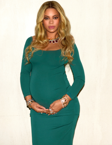 Could Beyonce's fuller pout be a pregnancy symptom? [Photo: Beyonce.com]
