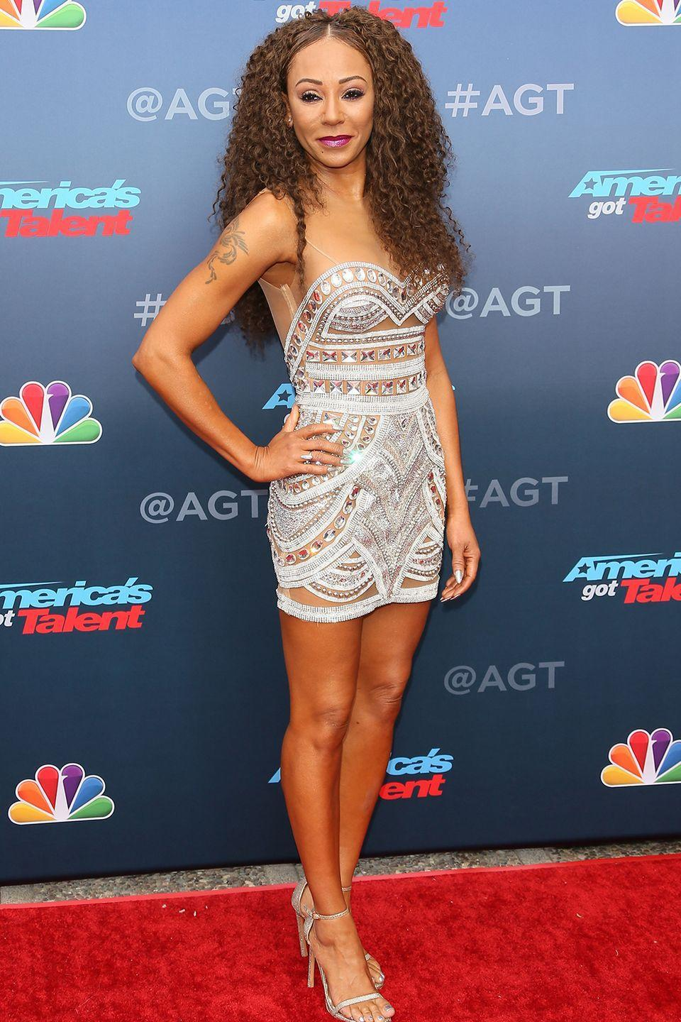 """<p>Mel B, a.k.a Scary Spice, and her then-boyfriend Eddie Murphy got <a href=""""https://www.huffingtonpost.com/2013/07/24/celebrities-remove-tattoo_n_3645934.html?slideshow=true#gallery/310078/9"""" rel=""""nofollow noopener"""" target=""""_blank"""" data-ylk=""""slk:matching hip tattoos"""" class=""""link rapid-noclick-resp"""">matching hip tattoos</a> in 2007. After ending their tumultuous relationship, Mel had her """"Eddie"""" tattoo removed.</p>"""