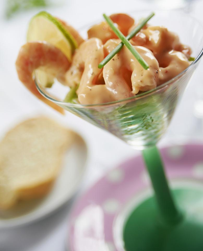 "<p>Make a non-cook starter like prawn cocktail, says Laura from <a rel=""nofollow"" href=""http://fulltothebrum.co.uk/"">Full to the Brum</a>. It's not only easy to assemble, but it frees up cooking space for the dinner. [Photo: Rex] </p>"