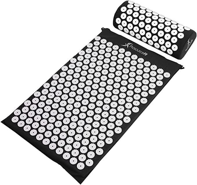 <p>Take a minute to yourself and lie down on the <span>ProsourceFit Acupressure Mat and Pillow Set</span> ($24).</p>
