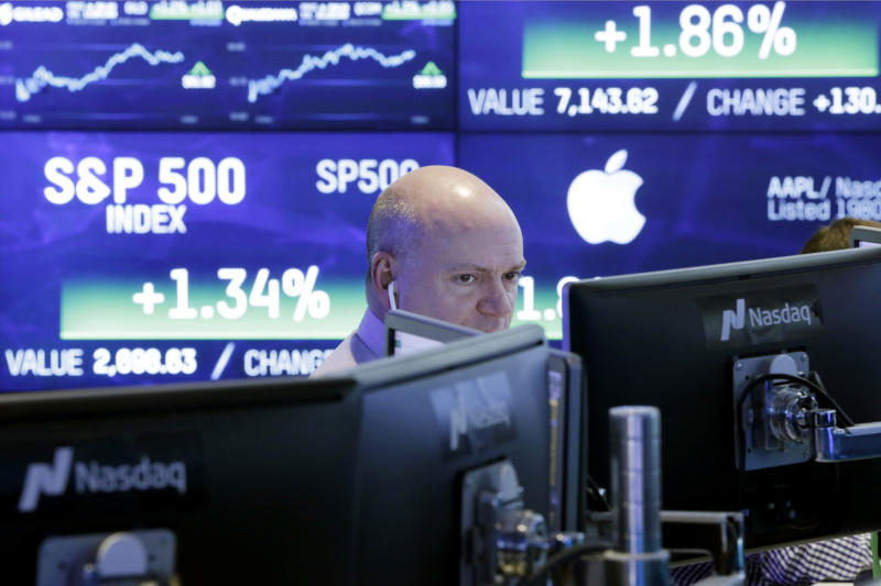 Stock market lifts US household wealth to $98.7 trillion