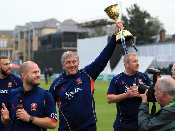 Silverwood guided Essex to the County Championship Division One title in 2017 (Getty)
