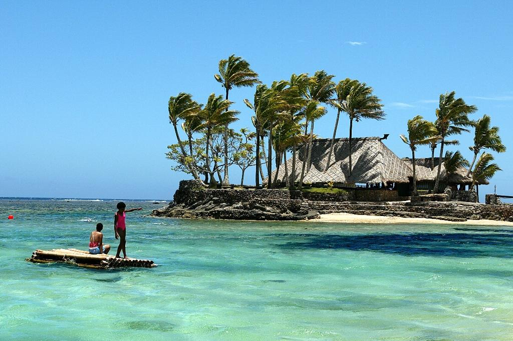 Tourism Fiji's mistake caused outrage in the deeply religious Pacific nation (AFP Photo/TORSTEN BLACKWOOD)