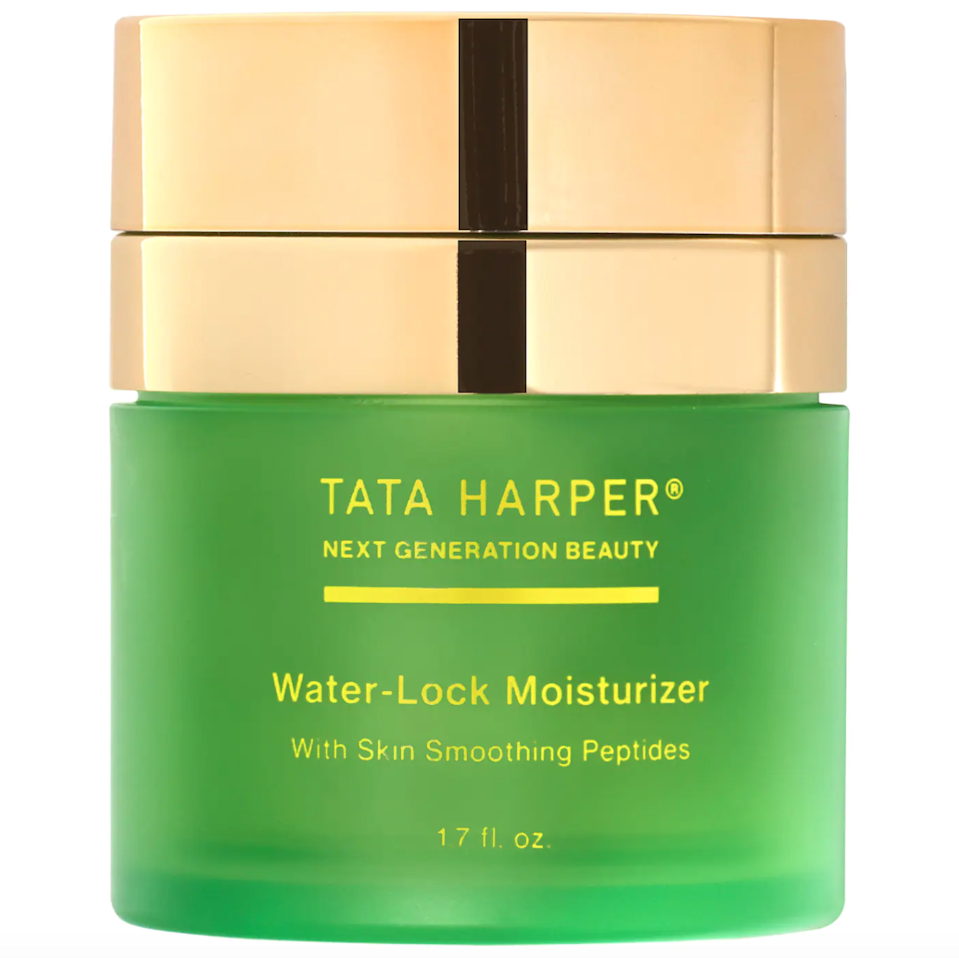 "<h2>Tata Harper Water-Lock Moisturizer with Skin-Smoothing Peptides</h2><br>Tata Harper's green jars are synonymous with clean, luxe skin-care. Now, they're entering the refillable game with their peptide-infused moisturizer.<br><br><strong>Tata Harper</strong> Water-Lock Moisturizer with Skin-Smoothing Peptides, $, available at <a href=""https://go.skimresources.com/?id=30283X879131&url=https%3A%2F%2Fwww.sephora.com%2Fproduct%2Ftata-harper-water-lock-moisturizer-with-skin-smoothing-peptides-P458917"" rel=""nofollow noopener"" target=""_blank"" data-ylk=""slk:Sephora"" class=""link rapid-noclick-resp"">Sephora</a><br><br><strong>Tata Harper</strong> Water-Lock Moisturizer with Skin-Smoothing Peptides, $, available at <a href=""https://go.skimresources.com/?id=30283X879131&url=https%3A%2F%2Fwww.sephora.com%2Fproduct%2Ftata-harper-water-lock-moisturizer-with-skin-smoothing-peptides-P458917%3Fcountry_switch%3Dus%26lang%3Den%26skuId%3D2353001%26om_mmc%3Dppc-GG_1918213323_68906954525_pla-418172524696_2352458_353513010232_9002376_c%26ds_rl%3D1261471%26gclid%3DCjwKCAjwjbCDBhAwEiwAiudBy2HYI3qadNYQMNdc5s81Fqv668qlQiUqqOLBJGKbShEcACMS3SGX1BoCehwQAvD_BwE%26gclsrc%3Daw.ds"" rel=""nofollow noopener"" target=""_blank"" data-ylk=""slk:Sephora"" class=""link rapid-noclick-resp"">Sephora</a>"
