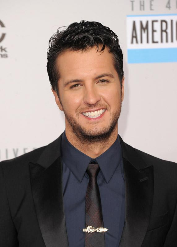 Luke Bryan 40th Annual American Music Awards Los Angeles, CA