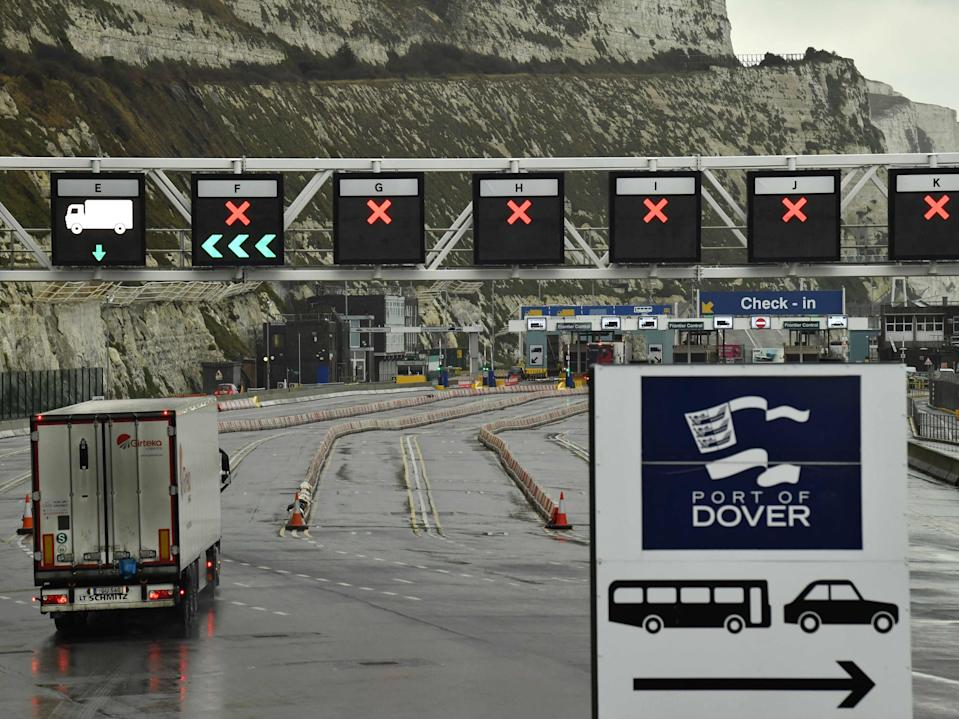 <p>The vehicle is believed to have entered the country from Dover before being stopped near Trumpington, Cambridge</p> (AFP via Getty Images)