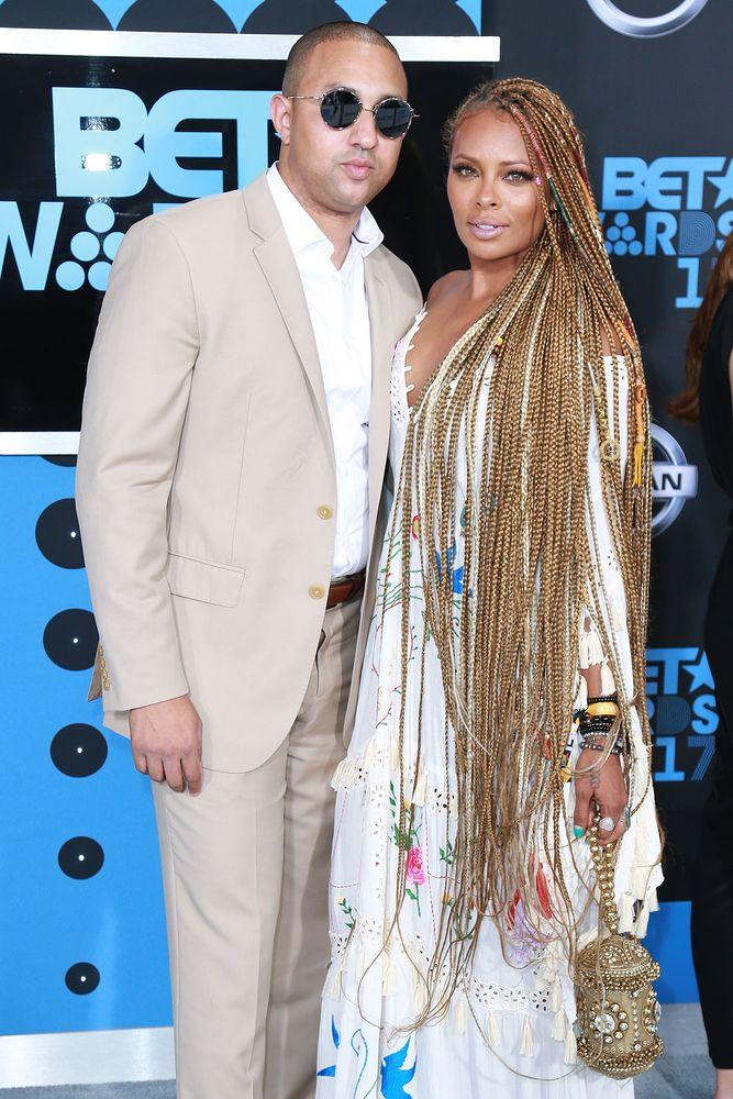 Michael Sterling and Eva Marcille