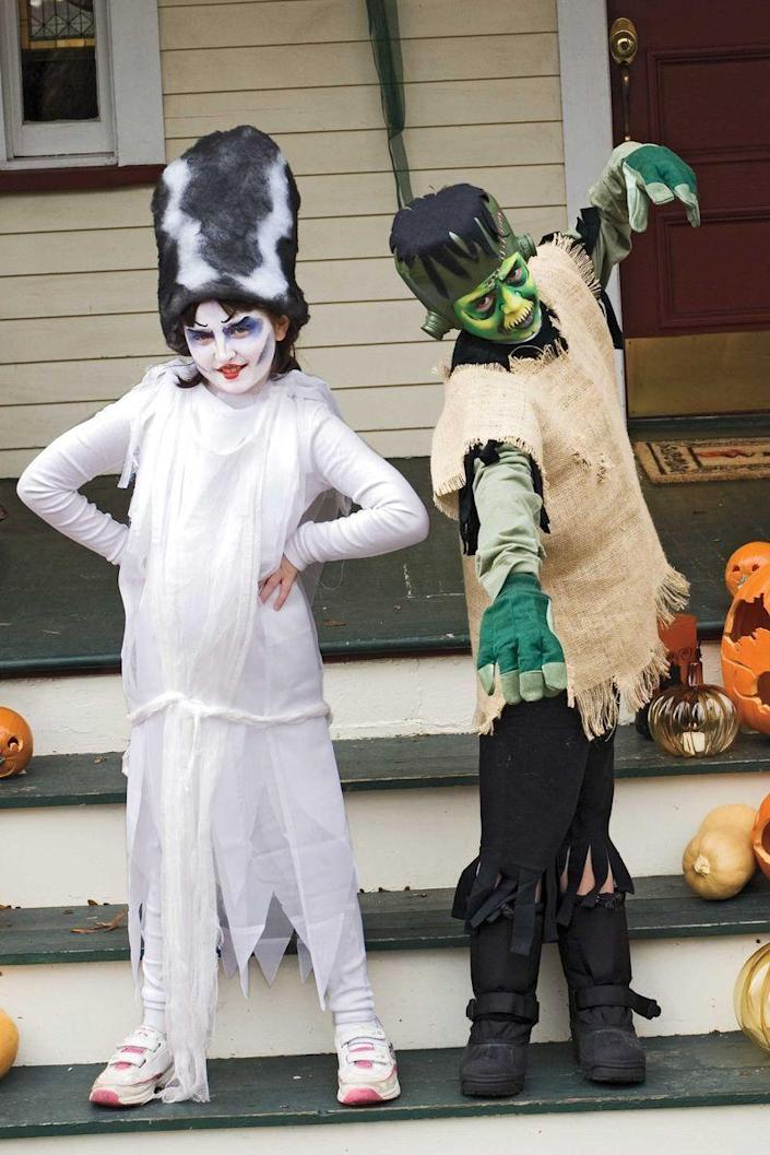 <p>Nobody wants to wear the same costume two years in a row. Get your friends' kids together for a costume swap — you may just end up with an incredible mashup that's completely unique. Some cities even host community-wide swaps on October 10, National Costume Swap Day. </p>