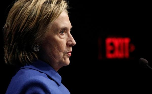 Clinton condemned white supremacist groups on Twitter for inciting hatred and violence in Charlottesville