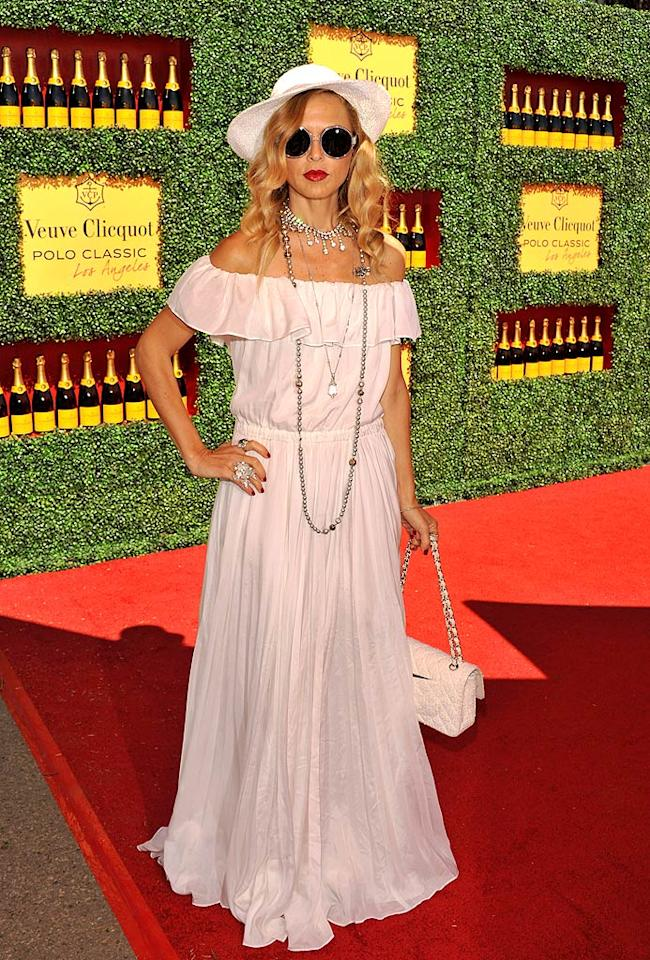 Stylist to the stars Rachel Zoe may have her own reality show, but that doesn't necessarily mean she has a great sense of style. Case in point: the over-accessorized getup she unsuccessfully attempted to rock at the 2nd Annual Veuve Clicquot Polo Classic.  JB Lacroix/WireImage.com - October 9, 2011