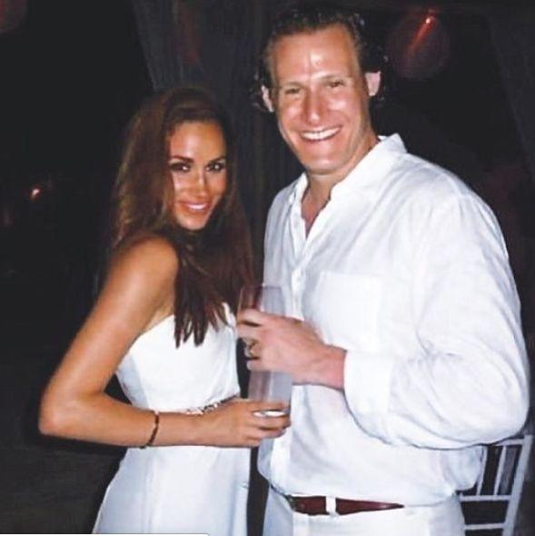 Markle and Engelson's 2011 wedding photo. Image via Instagram.