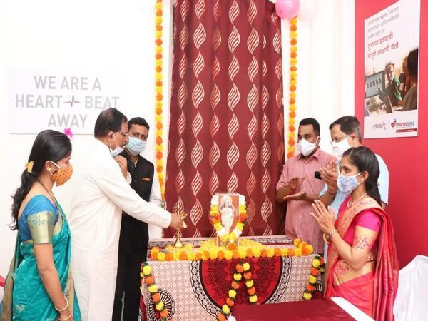 Union Minister of State for AYUSH (Independent Charge) Shripad Naik at the inauguration of Madhavbaug and Vedic Delight Ayurvedic treatment centres at Dhavali-Ponda (Photo/ANI)