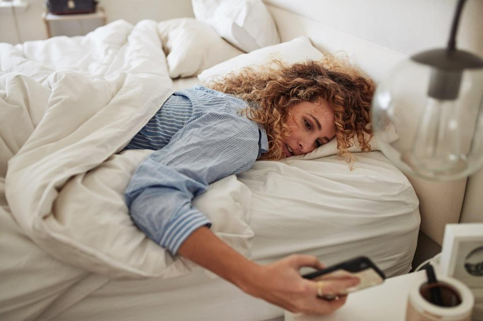 "<p>This is something I'm guilty of doing almost every day, so I needed this wake-up call. ""You want to wake up in the lighter stages of sleep,"" Dr. Dasgupta told POPSUGAR. ""If you <a href=""https://www.popsugar.com/fitness/Does-Hitting-Snooze-Button-Make-You-More-Tired-45980847"" class=""link rapid-noclick-resp"" rel=""nofollow noopener"" target=""_blank"" data-ylk=""slk:hit the snooze button"">hit the snooze button</a>, which is very tempting, you can go into a deeper stage, and when you wake up from a deeper stage of sleep, or from REM sleep, you could get something called sleep inertia. Sleep inertia means it's really hard to get the day started."" He likens it to getting a boulder rolling from a complete standstill. In other words, it's not an ideal state to be in, especially when you have a busy workday ahead of you.</p>"