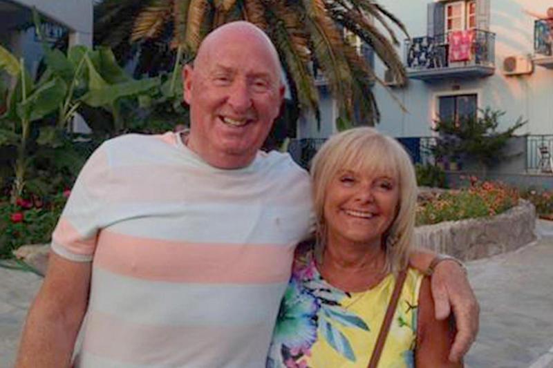 Susan Cooper, 64, and her husband John Cooper, 69, who both died during a holiday in Egypt