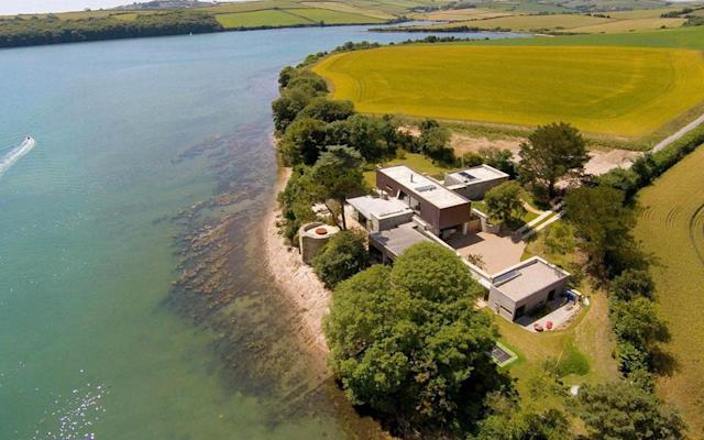 The Gerston Point house caused planning permission issues in 2011, now the buildings on the adjoining farmland have been rejected by planners in a retrospective application - APEX