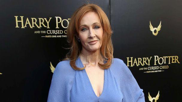 PHOTO: J.K. Rowling attends the Broadway Opening Day performance of 'Harry Potter and the Cursed Child Parts One and Two' at The Lyric Theatre, April 22, 2018, in New York. (Walter McBride/WireImage via Getty Images, FILE)