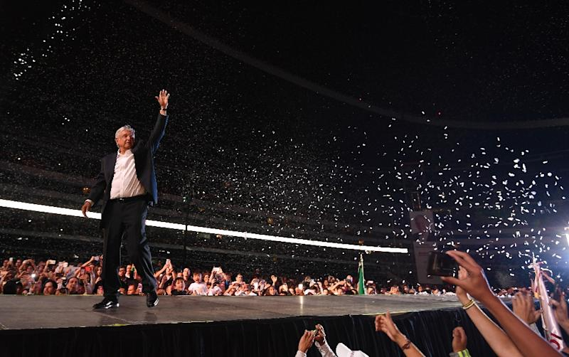 Lopez Obrador elected Mexico's new president with 53 per cent of vote