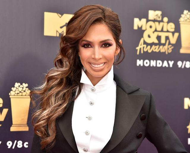 Farrah Abraham attends the 2018 MTV Movie & TV Awards on June 16 in Santa Monica, Calif. (Photo: Jeff Kravitz/FilmMagic)