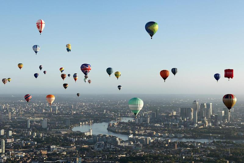 Up, up and away: the Balloon Show will come to London in November: Exclusive Ballooning®