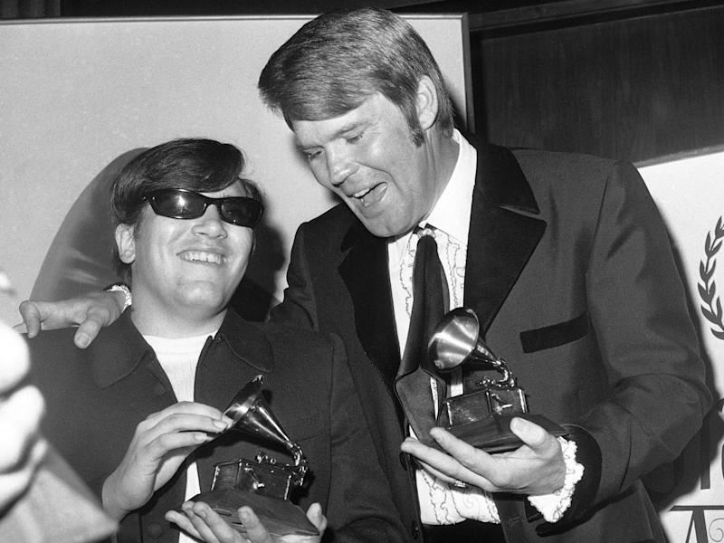 glen campbell and jose feliciano 11th grammys