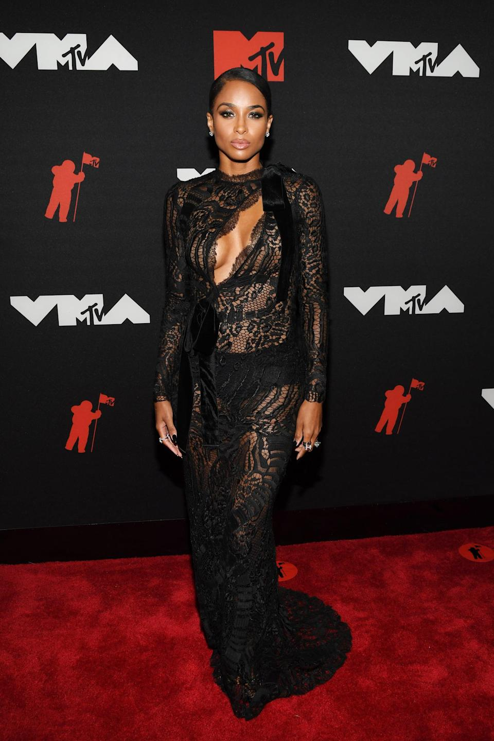 <p>Wearing a Tom Ford dress with Commando lingerie, Femme LA shoes, and YEPREM jewels.</p>