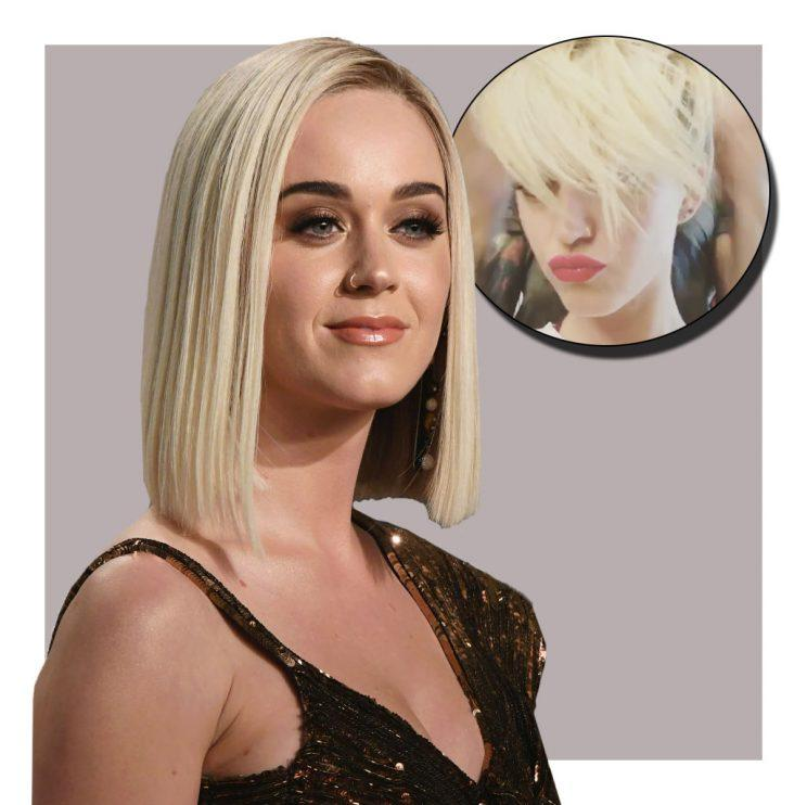 Katy Perry Just Got A Drastic Breakup Haircut With Major Miley Cyrus