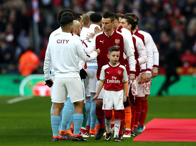 City will be wary to keep their motivation against Arsenal: Getty