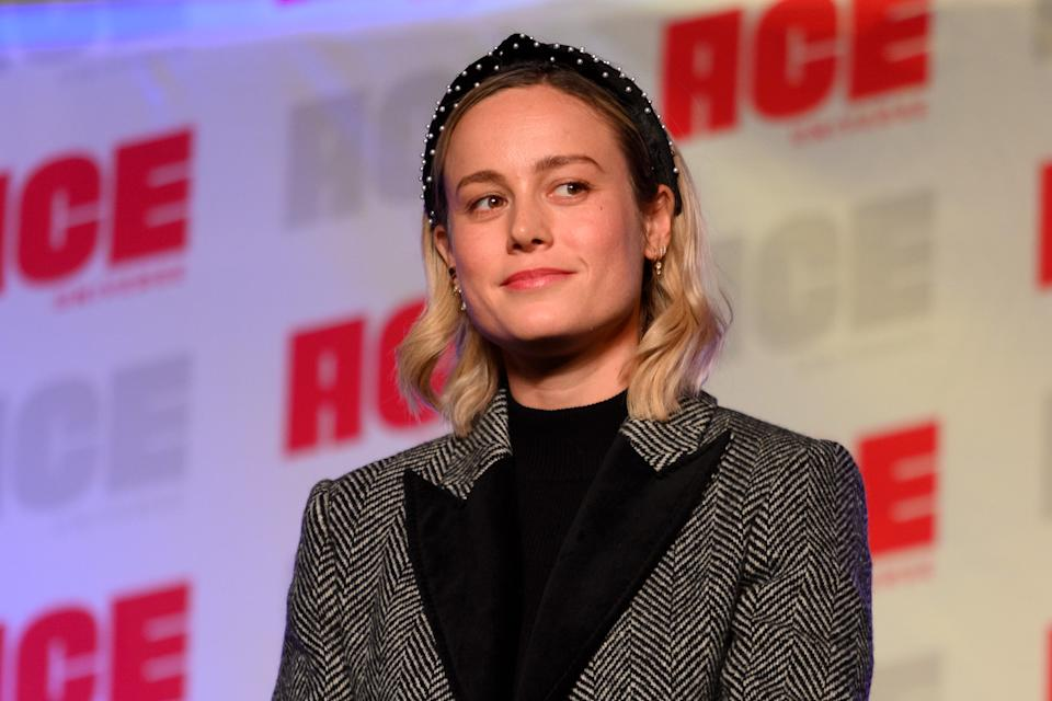 CHICAGO, ILLINOIS - OCTOBER 12: Brie Larson attends ACE Comic Con Midwest at Donald E. Stephens Convention Center on October 12, 2019 in Rosemont, Illinois. (Photo by Daniel Boczarski/Getty Images)