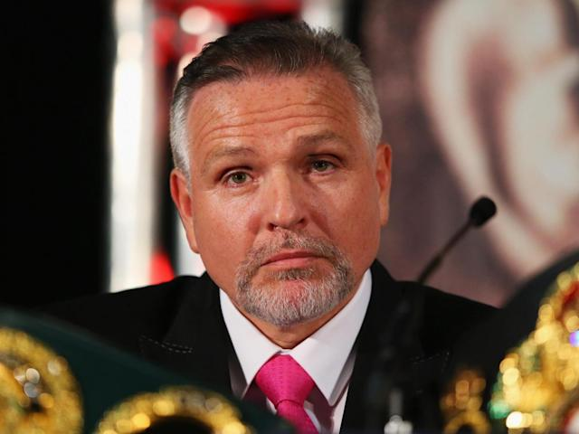 Peter Fury has warned Joshua not to fight on the counter (Getty )