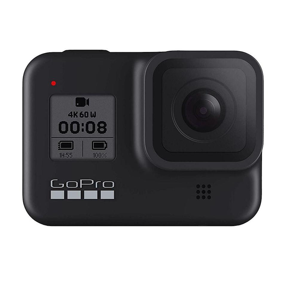 """<p><strong>GoPro</strong></p><p>amazon.com</p><p><strong>$349.00</strong></p><p><a href=""""https://www.amazon.com/dp/B07WSRXMS8?tag=syn-yahoo-20&ascsubtag=%5Bartid%7C2089.g.864%5Bsrc%7Cyahoo-us"""" rel=""""nofollow noopener"""" target=""""_blank"""" data-ylk=""""slk:Shop Now"""" class=""""link rapid-noclick-resp"""">Shop Now</a></p><p>The HERO8 Black by GoPro is the best action camera out there. It's compact, effortlessly easy to operate, and better-connected than any of its competitors. It can capture 4K video at a barely believable 60 frames per second, or live stream your adventures in Full HD resolution. </p><p>Most importantly, the gadget has the best video stabilization tech in its class. It also has the capability to shoot bursts of 12 MP images. </p><p>The HERO8 Black can go up to 33 feet underwater without a housing. GoPro also introduced a trio of modular accessories (mods) that are tailor-made for the camera. </p><p>They include a front-facing <a href=""""https://go.redirectingat.com?id=74968X1596630&url=https%3A%2F%2Fgopro.com%2Fen%2Fus%2Fshop%2Fmounts-accessories%2Fdisplay-mod%2FAJLCD-001.html&sref=https%3A%2F%2Fwww.bestproducts.com%2Ftech%2Fg864%2Fcool-tech-products-you-need%2F"""" rel=""""nofollow noopener"""" target=""""_blank"""" data-ylk=""""slk:display mod"""" class=""""link rapid-noclick-resp"""">display mod</a>, an <a href=""""https://go.redirectingat.com?id=74968X1596630&url=https%3A%2F%2Fgopro.com%2Fen%2Fus%2Fshop%2Fmounts-accessories%2Flight-mod%2FALTSC-001.html&sref=https%3A%2F%2Fwww.bestproducts.com%2Ftech%2Fg864%2Fcool-tech-products-you-need%2F"""" rel=""""nofollow noopener"""" target=""""_blank"""" data-ylk=""""slk:LED light mod"""" class=""""link rapid-noclick-resp"""">LED light mod</a>, and a <a href=""""https://go.redirectingat.com?id=74968X1596630&url=https%3A%2F%2Fgopro.com%2Fen%2Fus%2Fshop%2Fmounts-accessories%2Fmedia-mod%2FAJFMD-001.html&sref=https%3A%2F%2Fwww.bestproducts.com%2Ftech%2Fg864%2Fcool-tech-products-you-need%2F"""" rel=""""nofollow noopener"""" target=""""_blank"""" data-ylk=""""slk:media mod"""" class=""""link rapid-noclick-resp"""">me"""