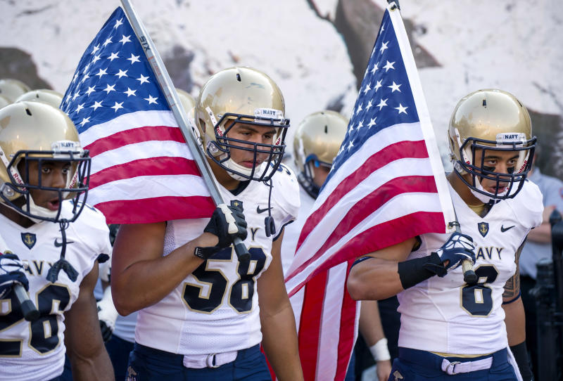 Navy set for weekend football; other sports off