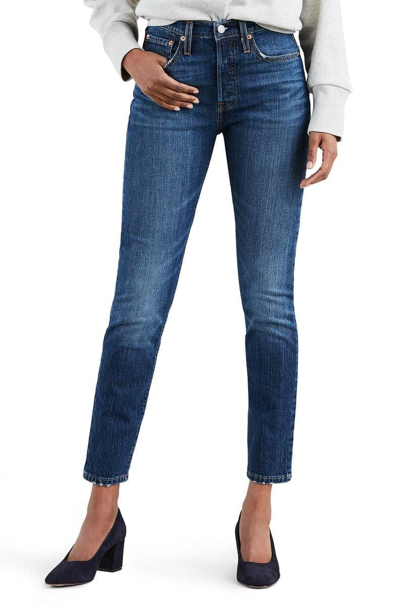 <p>These <span>Levi's 501 High Waist Ankle Skinny Jeans</span> ($69, originally $98) are ones you can wear to the office, to dinner, or out on the weekends. This is the classic 501 style reimagined for a skinnier fit.</p>