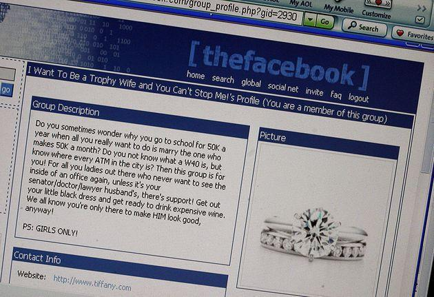st/facebook Message posted at an online college community called 'thefacebook.com.  (Photo by Juana Arias/The The Washington Post via Getty Images) (Photo: The Washington Post via The Washington Post via Getty Im)