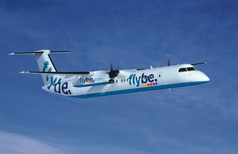 Terrified passengers plunge 500ft in 18 seconds when Flybe plane's autopilot was accidentally turned