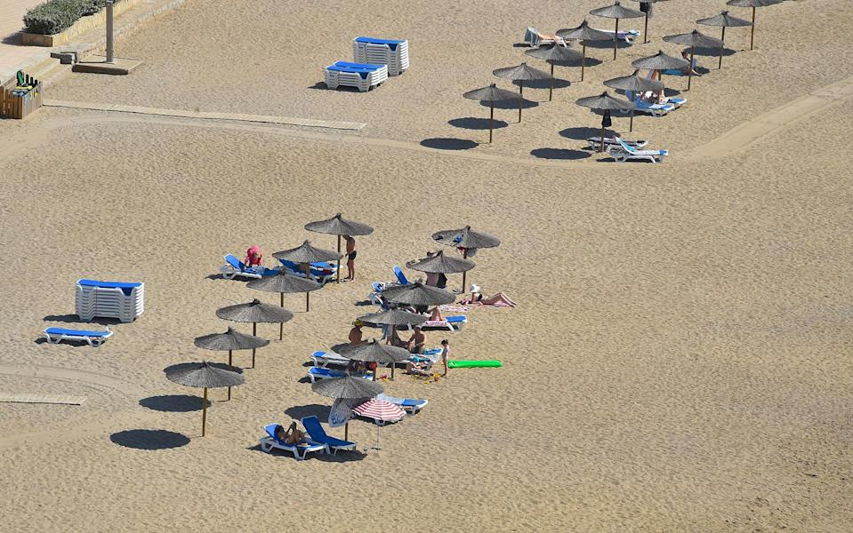 Holidays to Ibiza are, currently, off the table - Getty