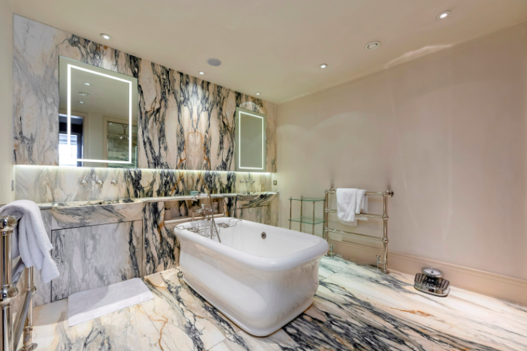 One of the bathrooms. Photo: Wetherell