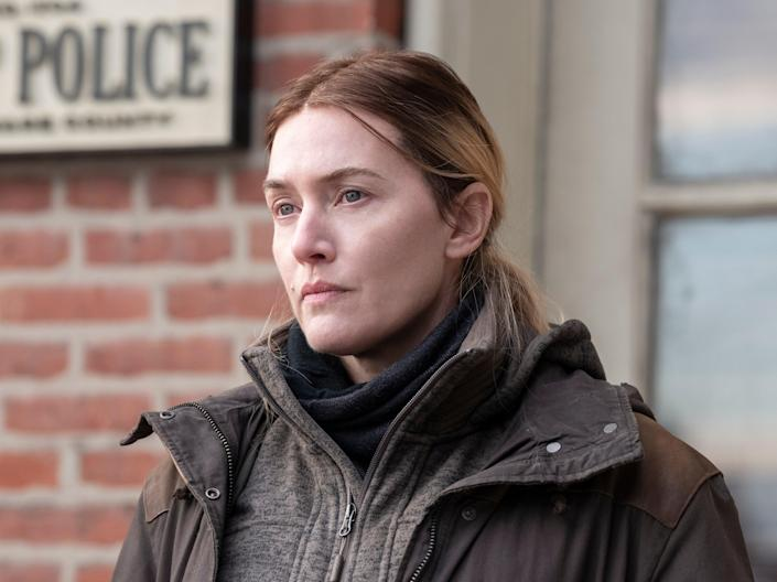 Kate Winslet in Mare of Easttown (© 2021 Home Box Office, Inc. Al)