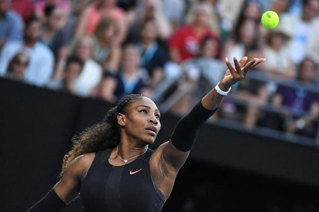 Serena Williams, a 23-time Grand Slam champion, owned the top spot for 186 consecutive weeks through last September (AFP Photo/WILLIAM WEST)