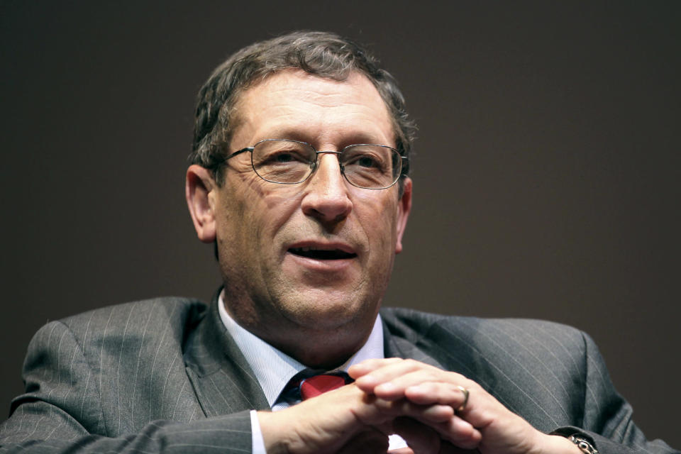 David Blanchflower, professor of Economics at Dartmouth College. Photog: Jin Lee/Bloomberg for Getty Images
