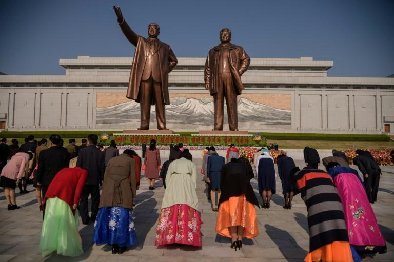 Current leader Kim Jong Un's grandfather was born 109 years ago and April 15 is the most important date in the state's annual political calendar
