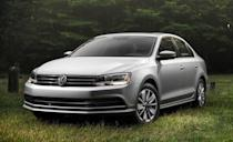"""<p>Since 1979, the <a href=""""http://caranddriver.com/volkswagen/jetta"""" rel=""""nofollow noopener"""" target=""""_blank"""" data-ylk=""""slk:Jetta"""" class=""""link rapid-noclick-resp"""">Jetta</a> has been Volkswagen's smallest sedan and one of its most popular models. The compact matured handsomely when its sixth generation debuted in 2011, and it enjoyed strong sales until it was replaced in 2019. Jettas sold from 2016 to 2018 are known for their attractive but understated styling, spacious back seats, and peppy acceleration. They aren't rocket ships with the standard turbocharged 1.4-liter four-cylinder engine, but they are fuel efficient. In our testing, it took 8.4 seconds to get from zero to 60 mph. Two larger turbocharged four-cylinder engines were offered and have considerably more power and thrust. Manual and automatic transmissions were available. VW also offered a hybrid model in 2016 and the TDI turbodiesel. Remember <a href=""""https://www.caranddriver.com/news/a30148920/vw-headquarters-raid-details/"""" rel=""""nofollow noopener"""" target=""""_blank"""" data-ylk=""""slk:Dieselgate"""" class=""""link rapid-noclick-resp"""">Dieselgate</a>? Prices start at just under $10,000.</p>"""