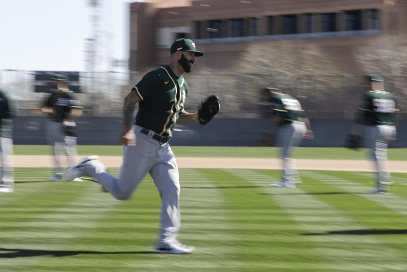 Fiers to make spring debut Sunday in A's split-squad game