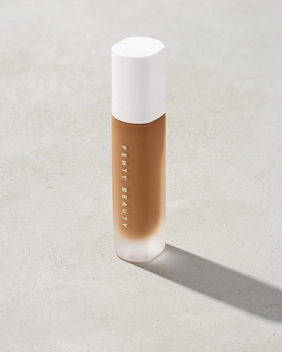 <p>It's easy to see why the <span>Fenty Beauty Pro Filt'r Soft Matte Longwear Foundation</span> ($36) is not only one of Biles's favorites, but a fan favorite in general. The formula is lightweight, and it applies seamlessly, not to mention that wearing it all day didn't leave my skin with a heavy, greasy feeling. </p>